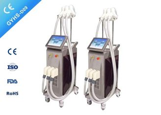 Customized Color Laser Hair Removal Equipment Double Semiconductor Cooling