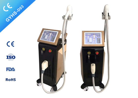 Single Handpiece Laser Body Hair Removal Machine Without Injury To Surrounding Tissue