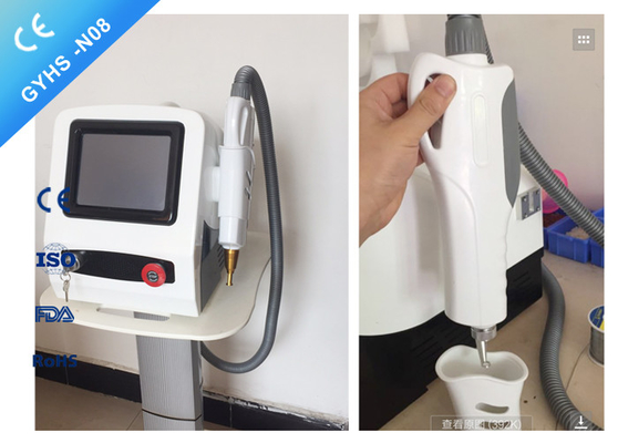 Pigments Freckle Removal Q Switch Yag Laser Machine / Nd Yag Laser System