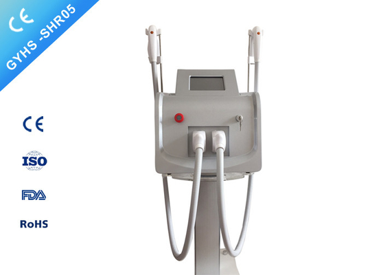 Portable Permanent Shr Laser Hair Removal Machine With Double Handpiece