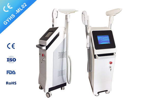 آلة إزالة الشعر FDA IPL SHR RF + SHR + Nd Yag Laser 3S Skin Tightening